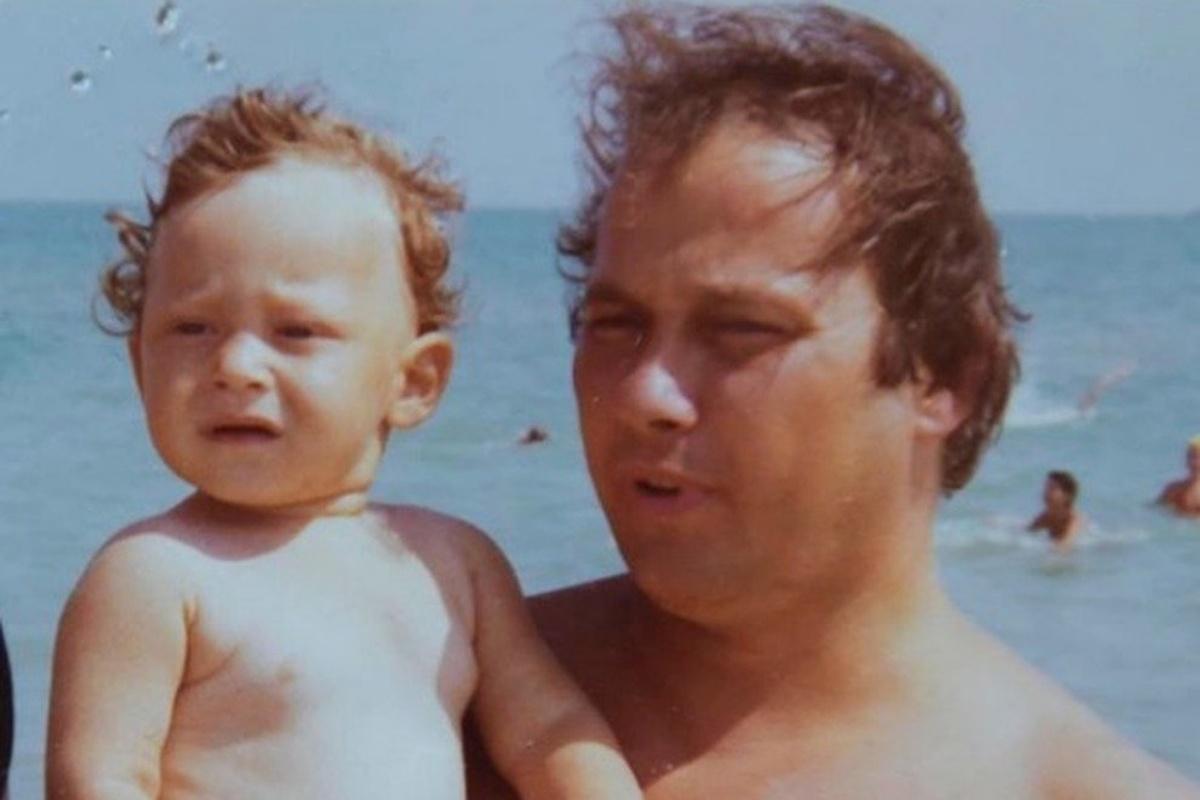 Francesco Totti ricorda papà Enzo