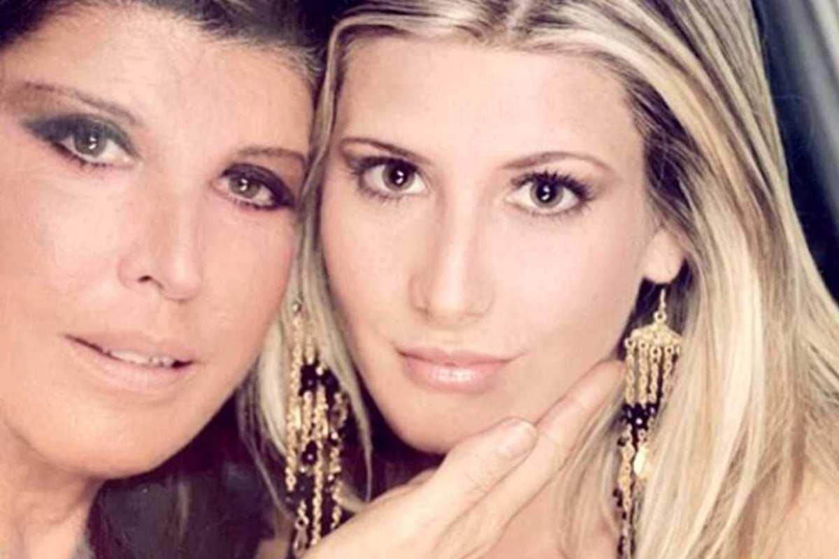 Patrizia De Blanck con la figlia