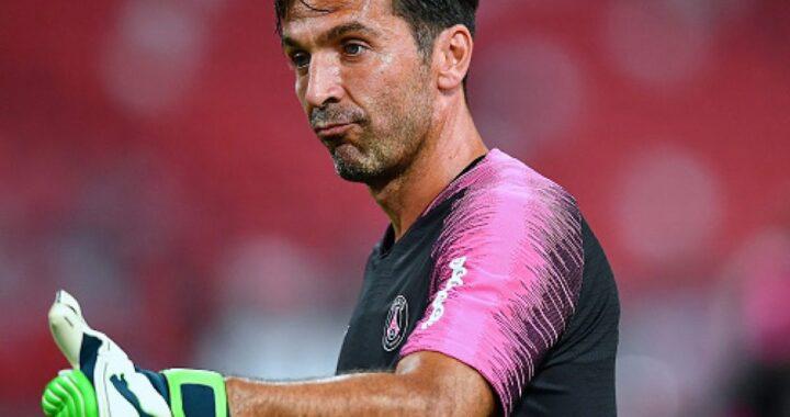 Gigi Buffon alza il pollice