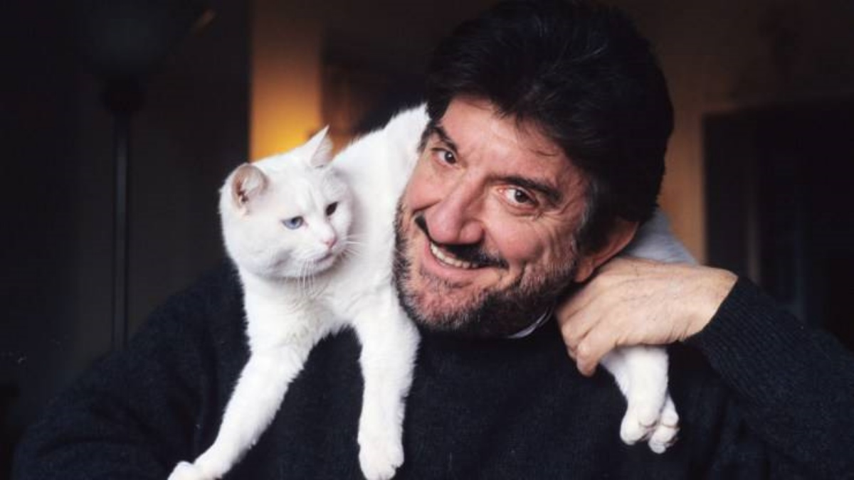 Gigi Proietti e il suo amore per gli animali