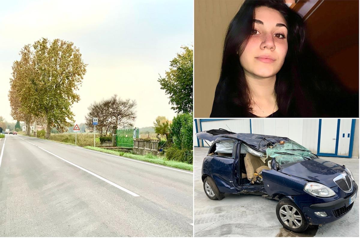 Collage incidente Chiara Santinello