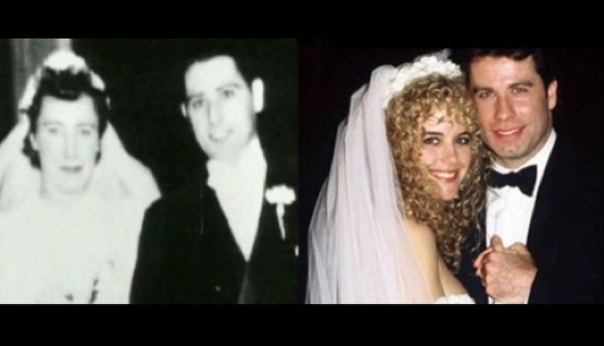John Travolta e la foto con Benjamin