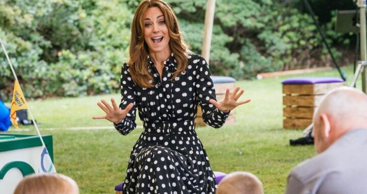 Kate Middleton mamma faro