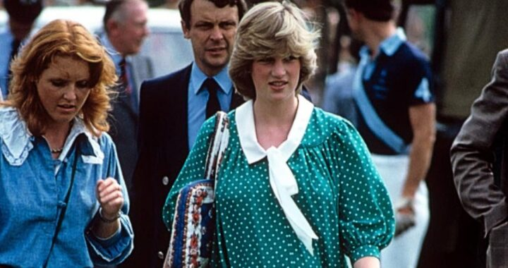 Lady Diana e Sarah Ferguson foto