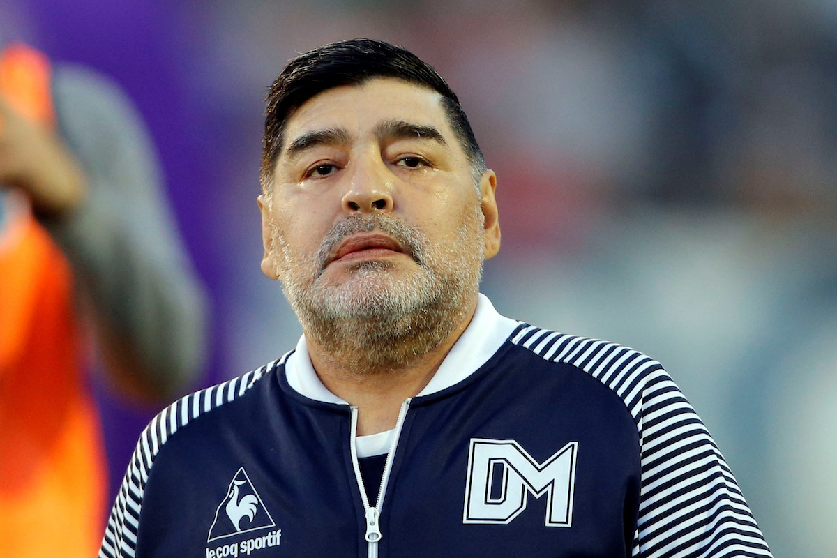 Maradona allenatore
