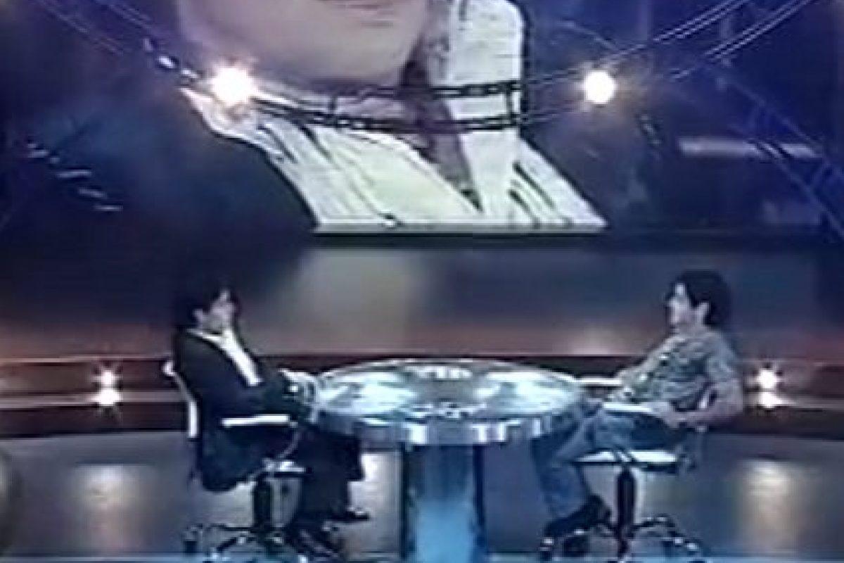 Maradona parla con sé stesso in tv