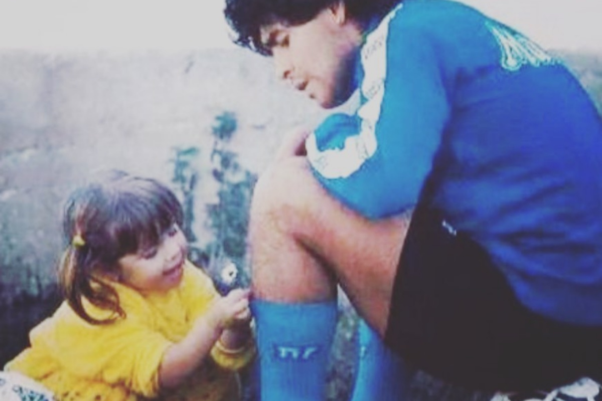 Dalma Maradona e l'addio a Diego