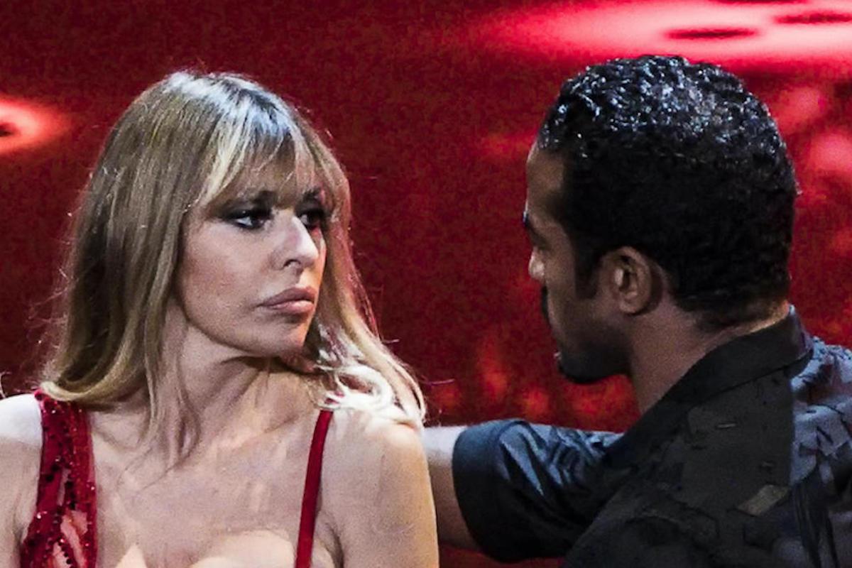 Coreografia di Maykel Fonts con Alessandra Mussolini
