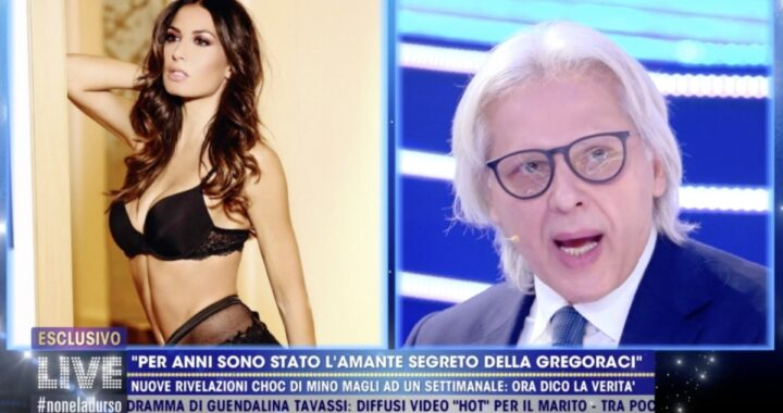 """Mino Magli torna all'attacco con Elisabetta Gregoraci: """"Relazione vera e propria"""""""