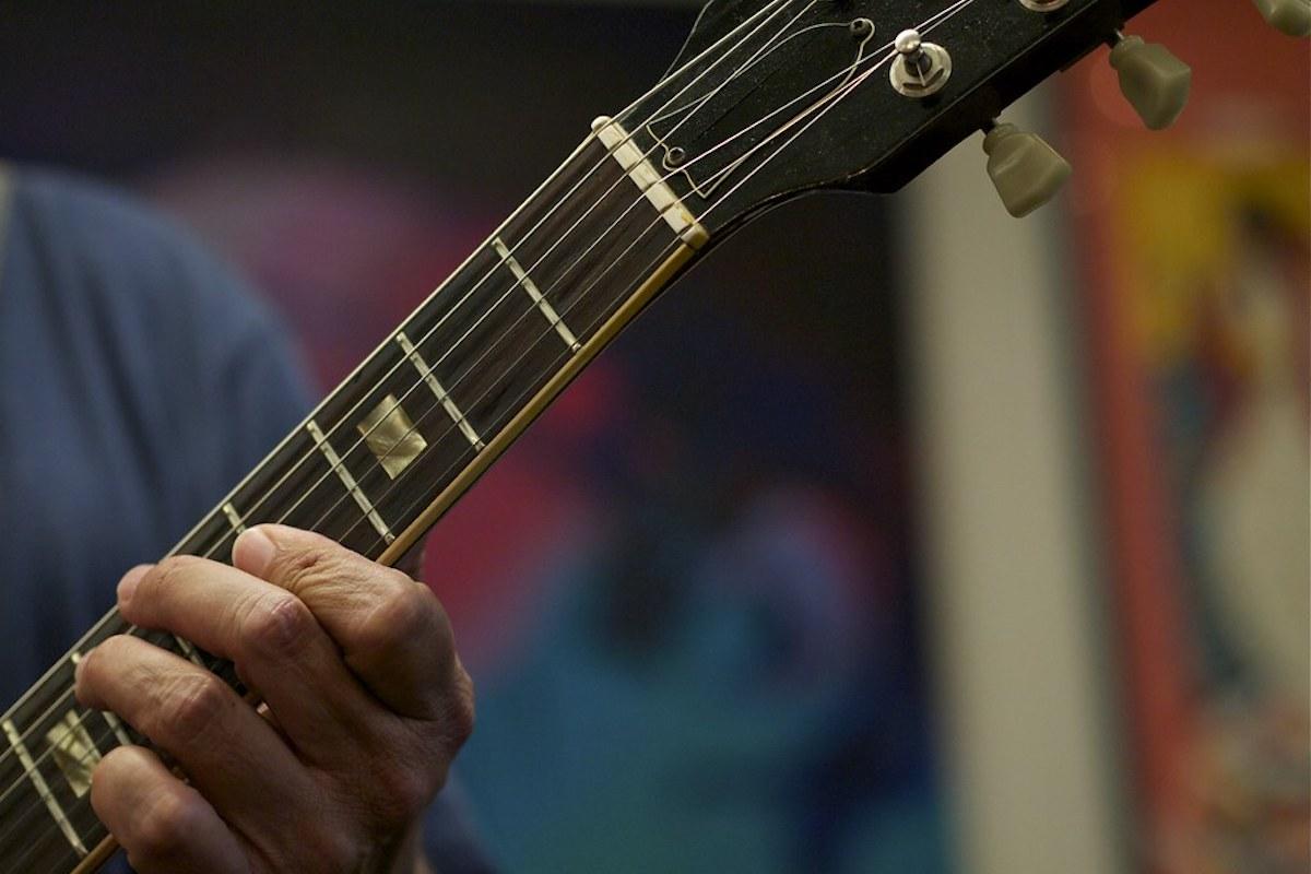 Corde di una chitarra