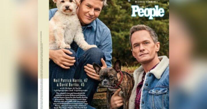 Neil Patrick Harris e i cani da salvataggio