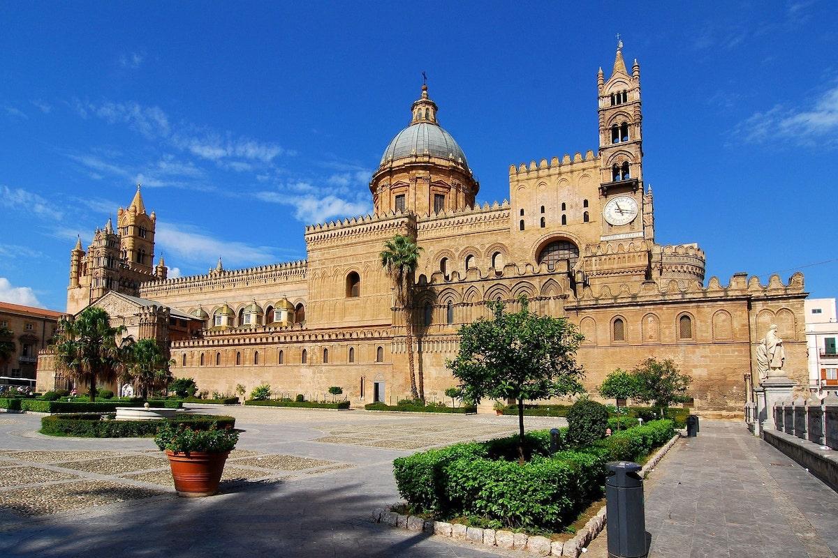 Un'inquadratura di Mezzomonreale di Palermo