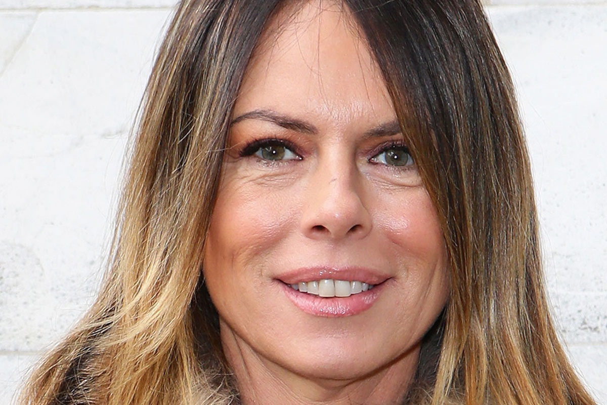 Paola Perego sorridente
