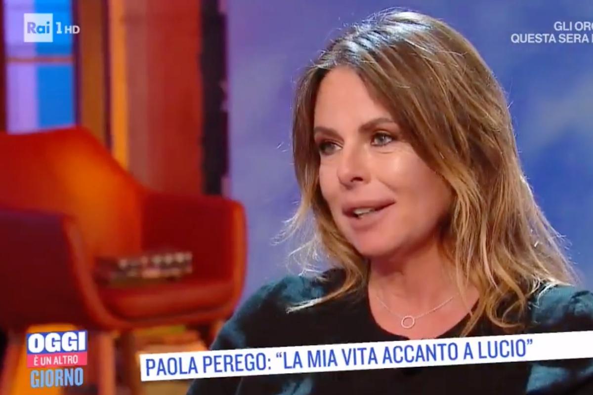Paola Perego a Oggi ospite a un'Altro Giorno