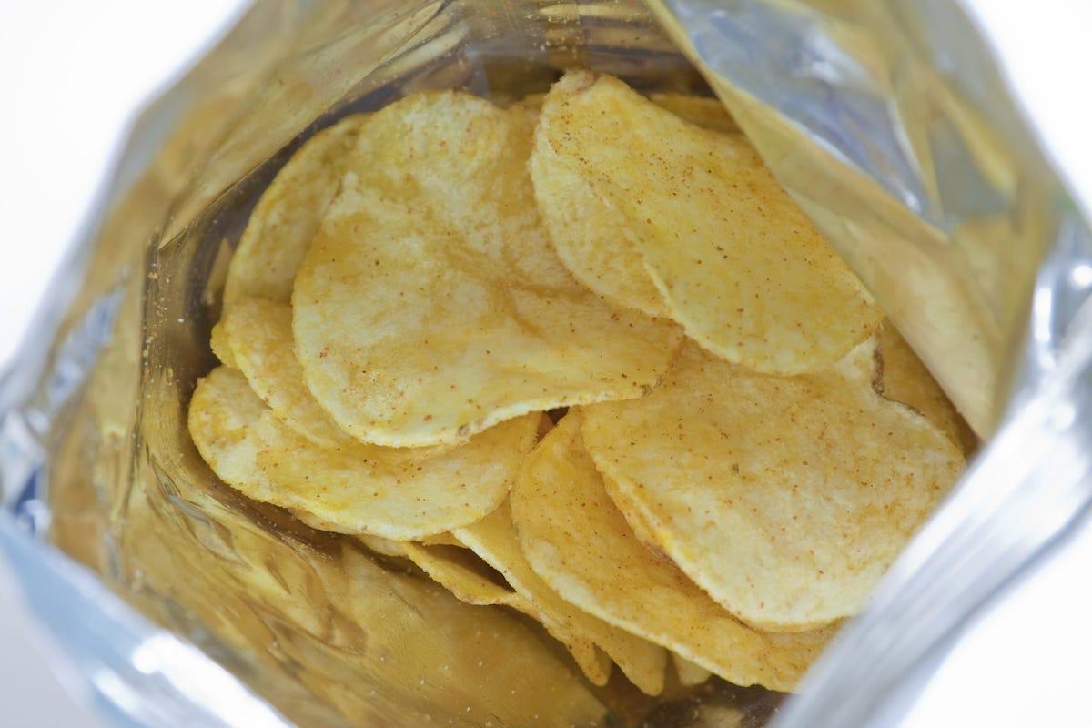 Contenuto busta patatine