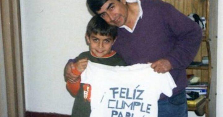Paulo Dybala e la foto della sua infanzia