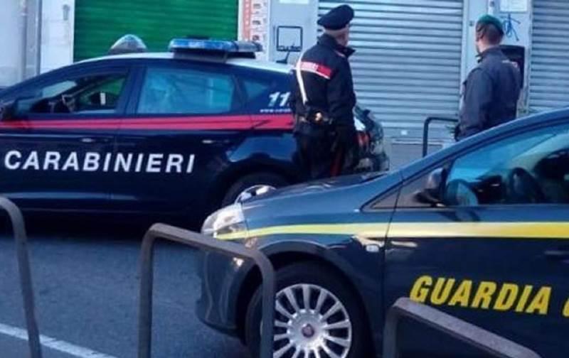 Polizia interrante