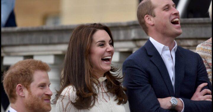 Principe Harry Kate e William insieme