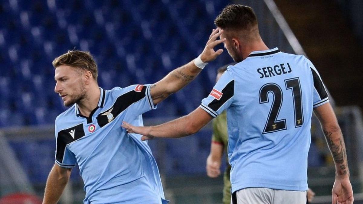 Lazio: Milinkovic Savic positivo al Covid