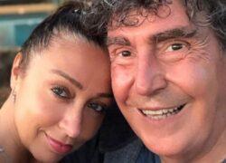 Selfie Tiziana Giardoni e Stefano D'Orazio