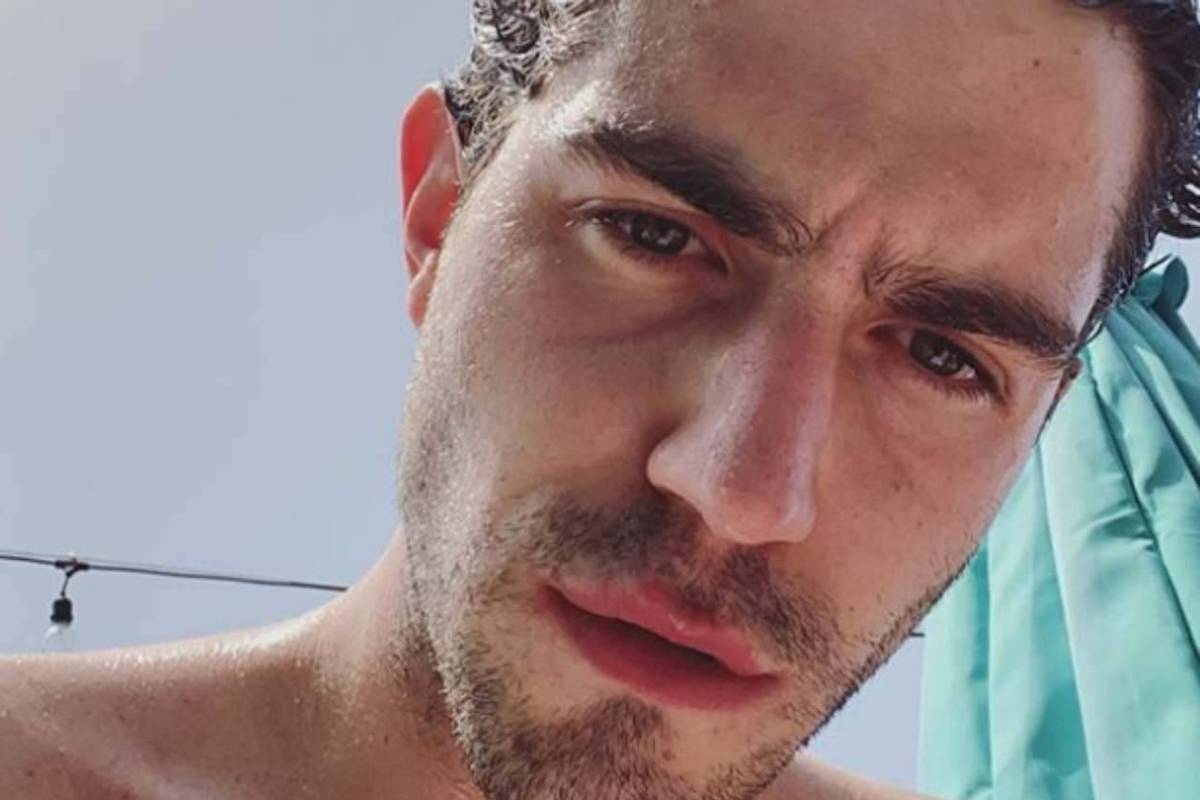 Tommaso Zorzi selfie