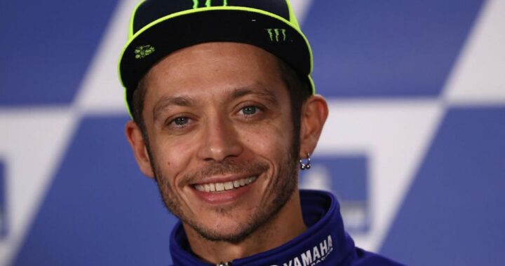 Valentino Rossi sorridente