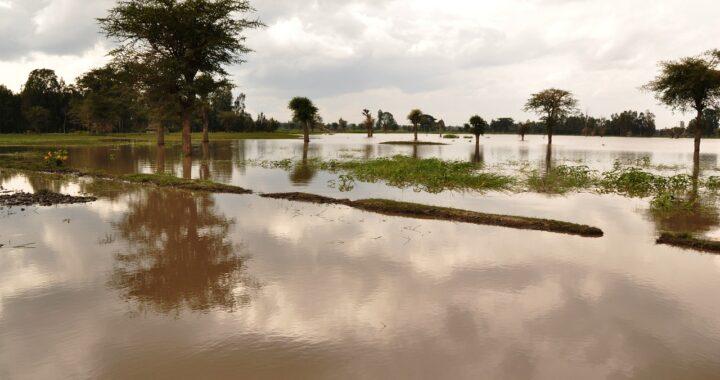 Esondazione del torrente Peschiera