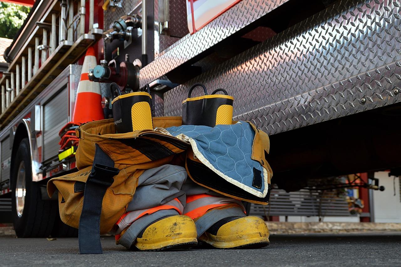 Pompieri intervengono
