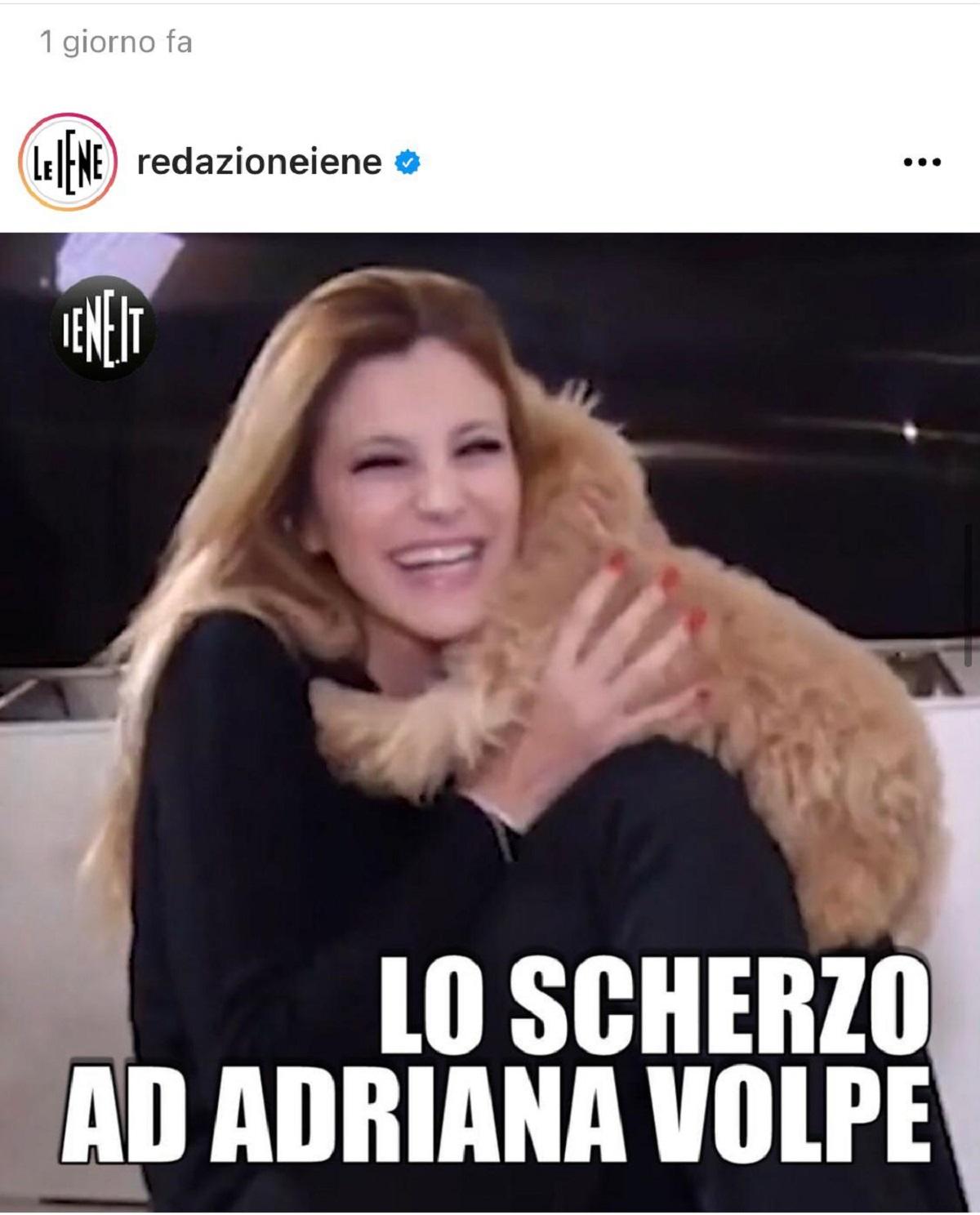 Adriana Volpe scherzo