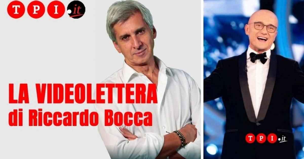 Alfonso Signorini attaccato da Riccardo Bocca
