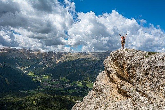 andare in montagna fa sempre bene