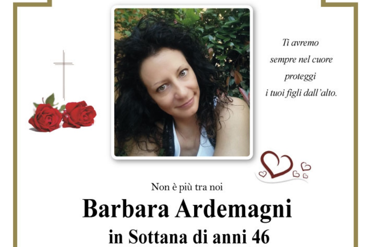 barbara ardemagni morta