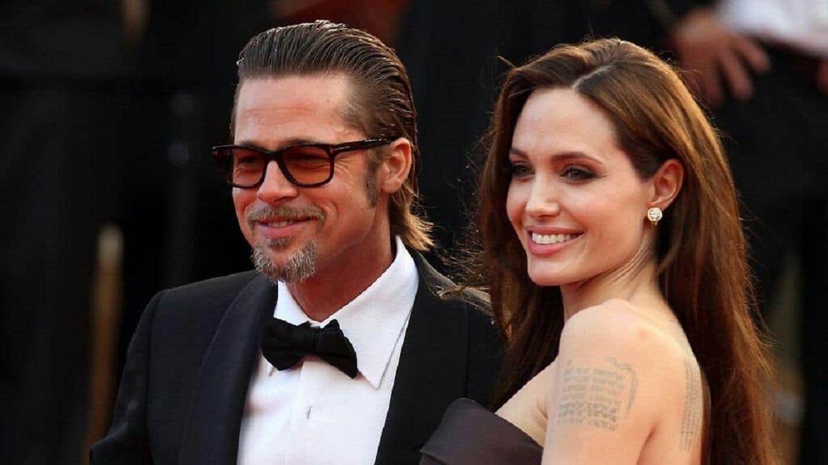 Angelina e Brad foto