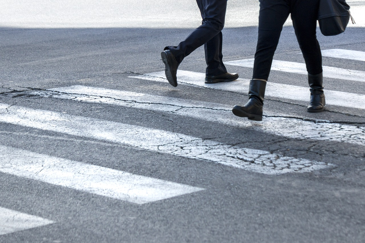 Attraversare la strada in sicurezza