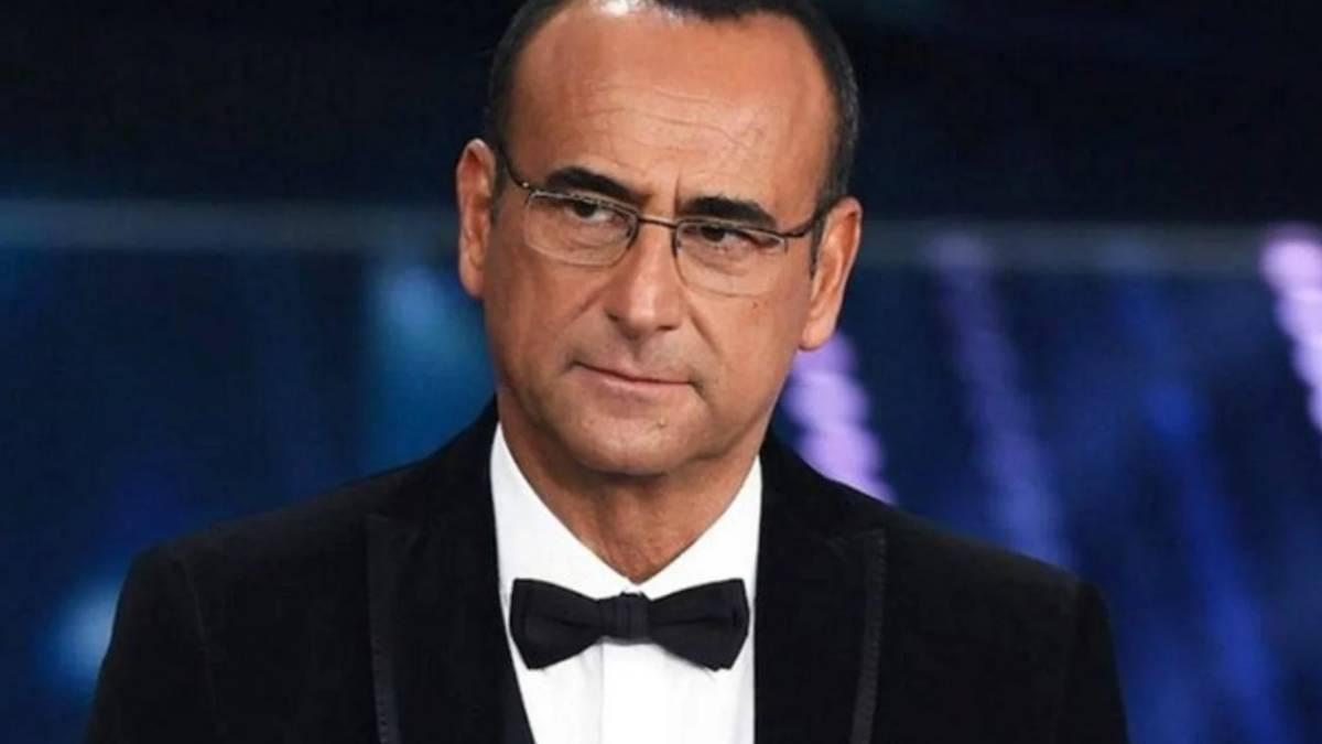 conduttore Carlo Conti