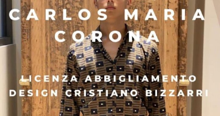 Carlos Maria Corona nuovo brand moda