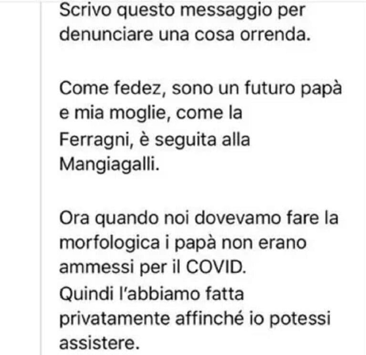 "Chiara Ferragni e Fedez: polemiche durante l'ecografia: ""Vergognatevi"""