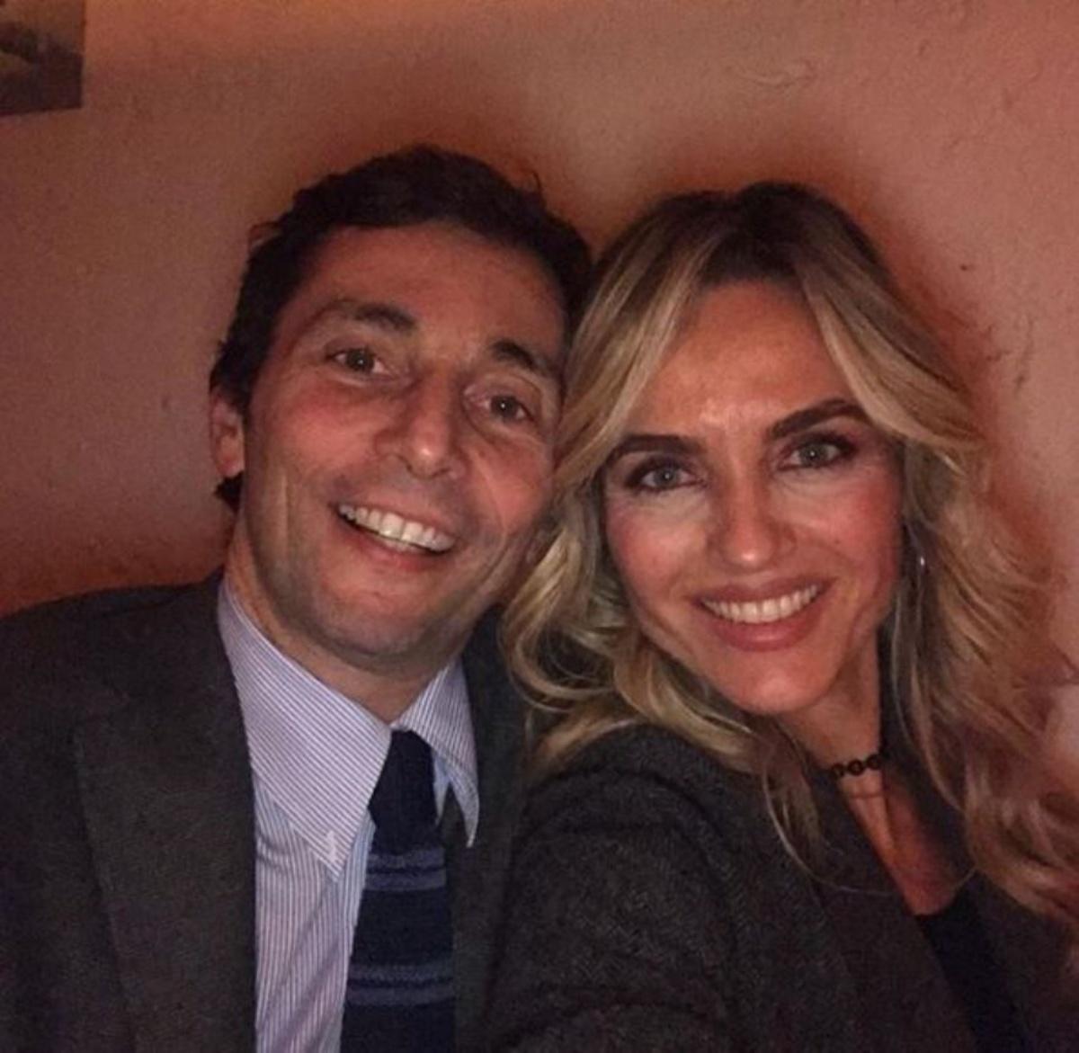 Laura Chimenti e il marito