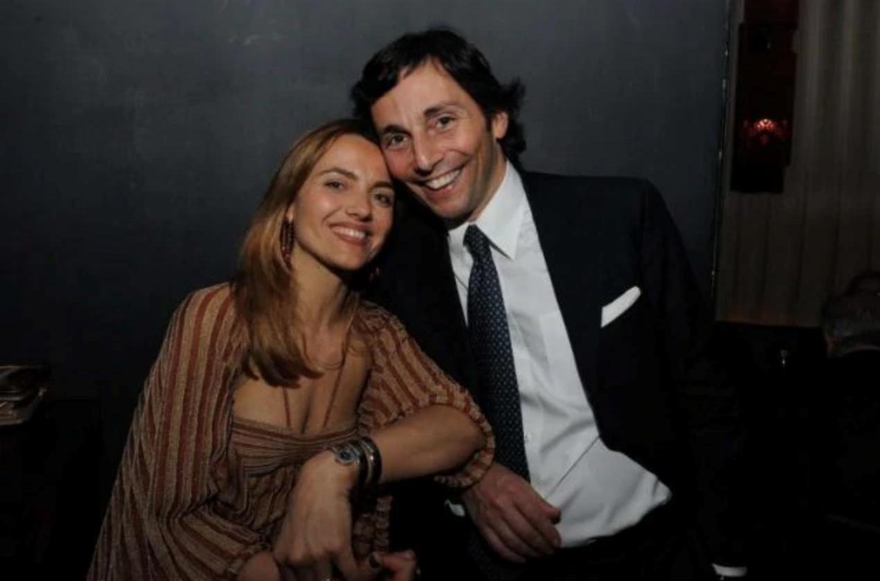 Laura Chimenti e Claudio Briganti