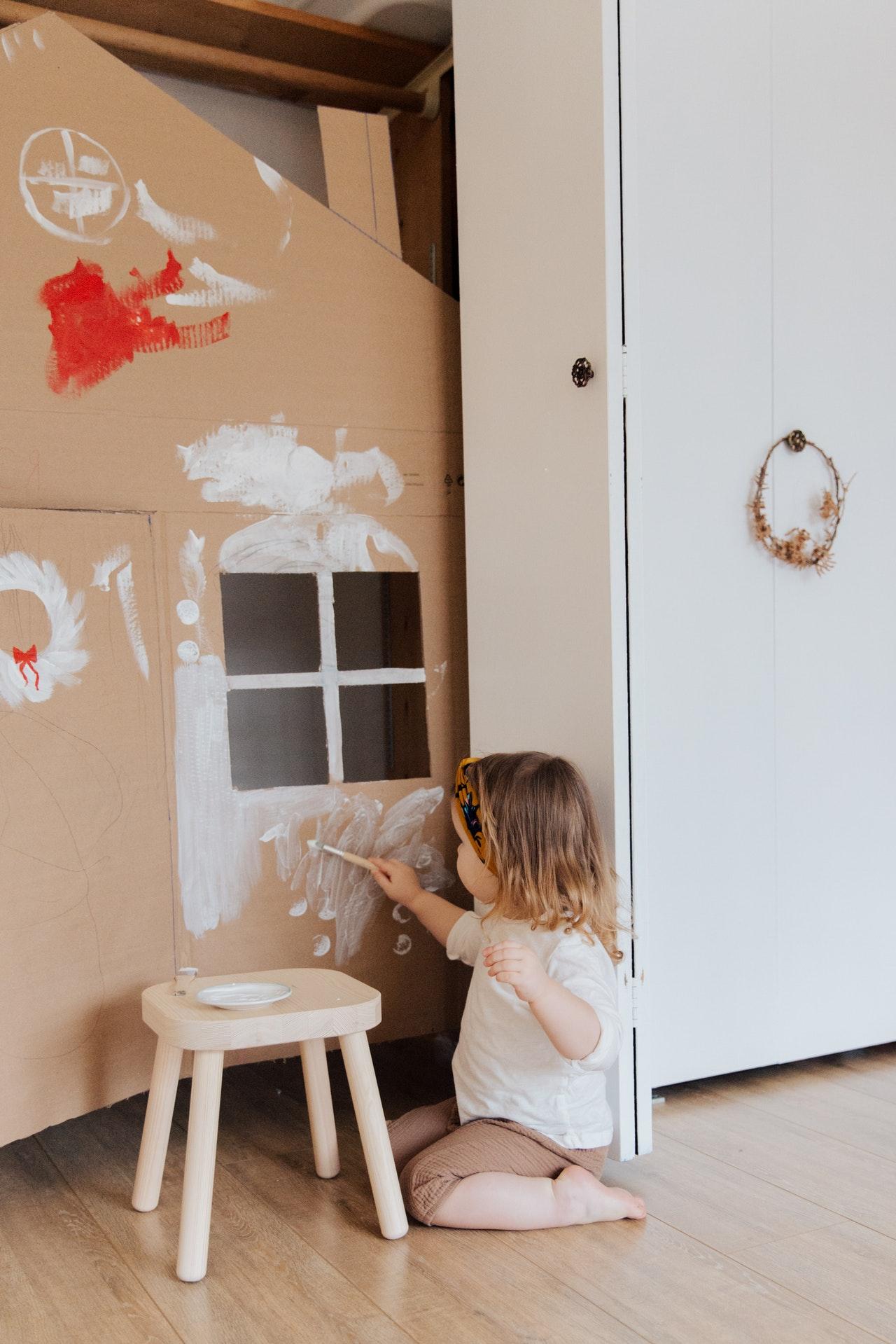 creatività-cameretta-bambina