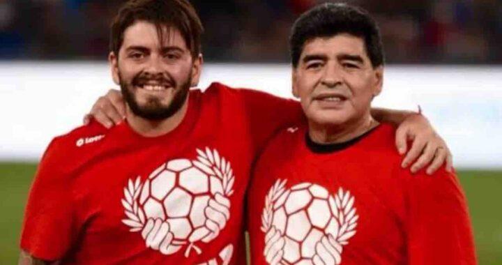 Diego Maradona Junior e il padre