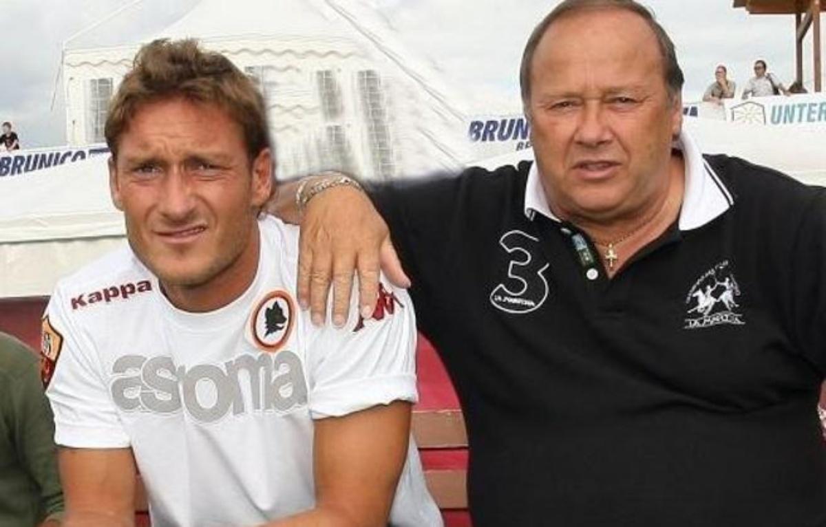 Enzo Totti e Francesco Totti