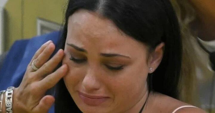 GF VIp Adua in lacrime per cola della Contessa