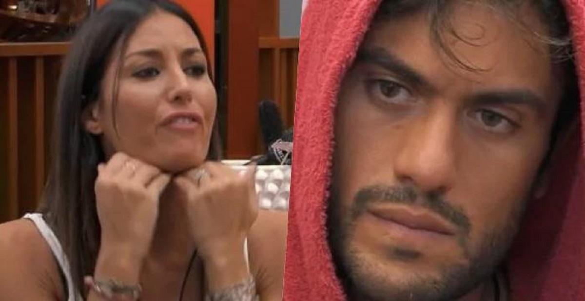 GF Vip Elisabetta Gregoraci in lacrime
