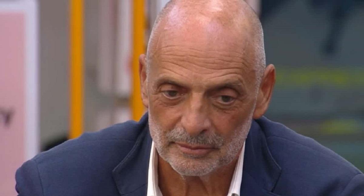GF Vip Alfonso Signorini contro Paolo Brosio