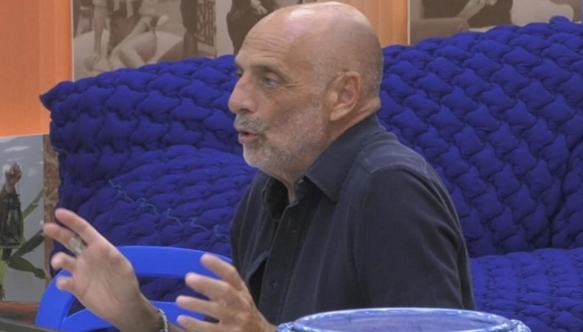GF Vip Paolo Brosio la rivelazione che sconvolge