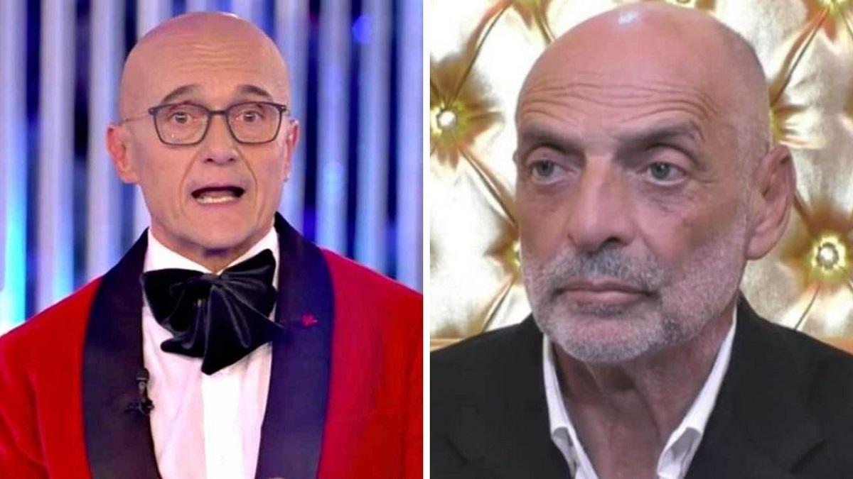 GF Vip Paolo Brosio smaschera Andrea Zelletta