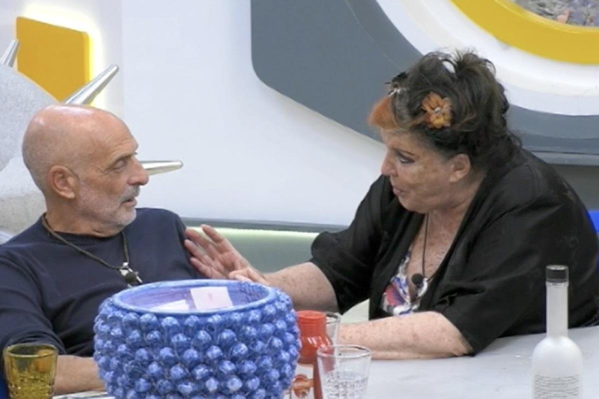 GF Vip: Patrizia De Blanck una furia contro Paolo Brosio