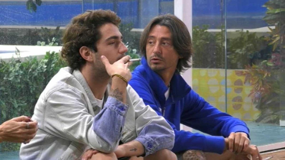 GF Vip gelosie in casa Tommaso e Francesco