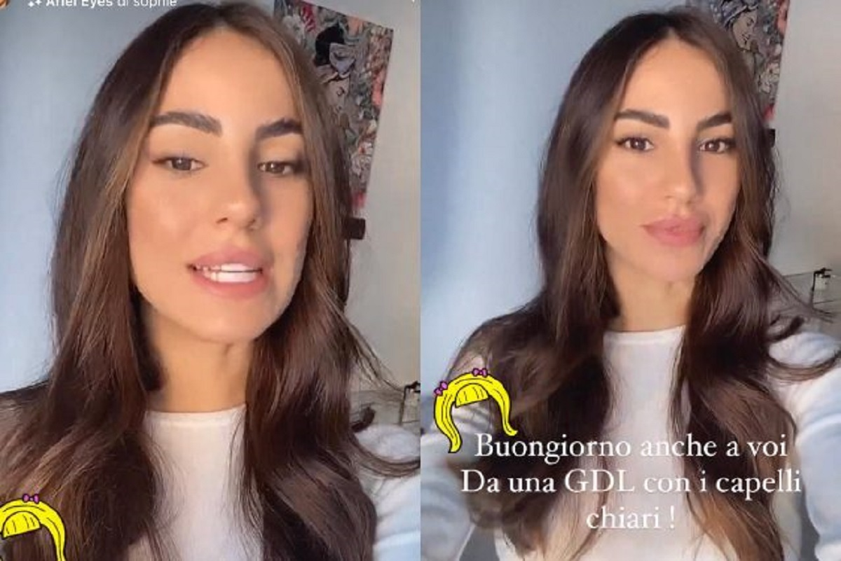 Giulia De Lellis nuovo look